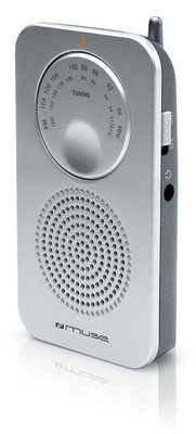 Muse M-01 RS zilver zakradio