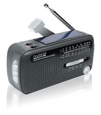 Muse MH-07 DS oplaadbare wereldradio