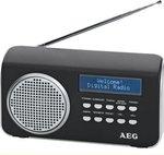 AEG 4130 DAB radio zwart