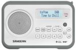 afbeelding van de Sangean DPR67 grijs tafelradio