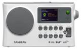 afbeelding van de Sangean WFR28C wit tafelradio