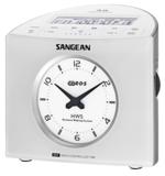 afbeelding van de Sangean RCR9 wit tafelradio