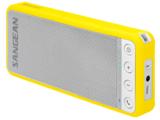 afbeelding van de Sangean BTS101 geel bluetooth speaker