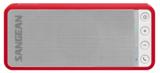 afbeelding van de Sangean BTS101 rood bluetooth speaker