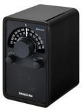 afbeelding van de Sangean WR15BT glossy black tafelradio