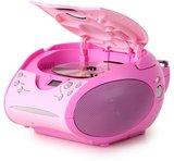 Lenco SCD-24 roze draagbare radio