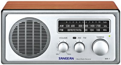 Sangean WR-1 walnut tafelradio