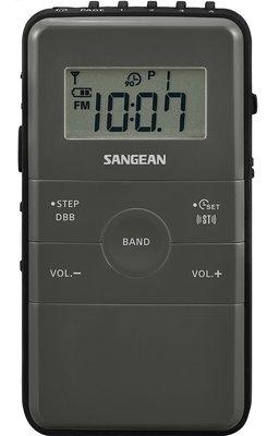 Sangean DT-140 zwart zakradio