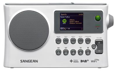 Sangean WFR-28C wit DAB+ radio