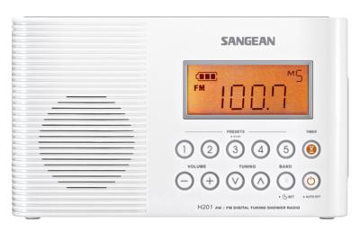 Sangean H-201 badkamerradio