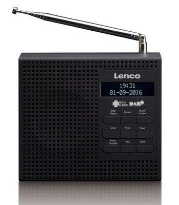 Lenco PDR-19 zwart DAB+ radio