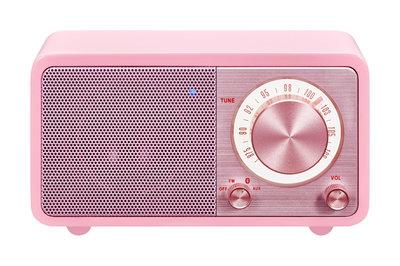 Sangean WR-7 roze radio