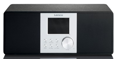 Lenco DIR-200 zwart DAB+ internetradio
