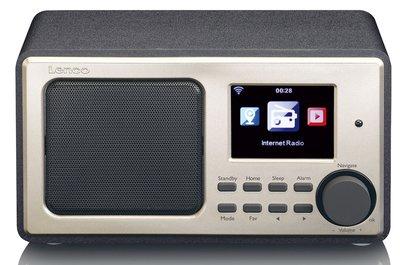 Lenco DIR-100 zwart internetradio