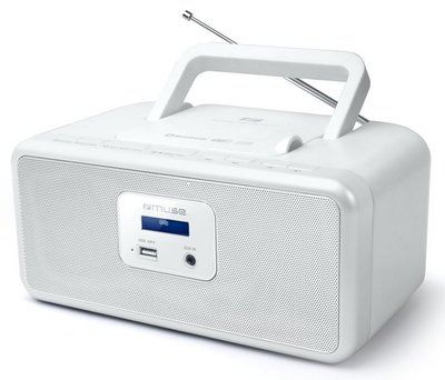 Muse M-32 DBW wit DAB+ radio