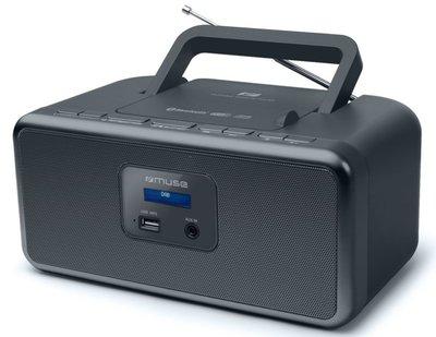 Muse M-32 DB zwart DAB+ radio