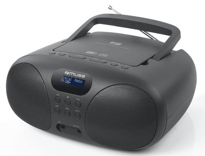 Muse MD-208 DB zwart DAB+ radio