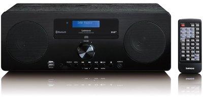 Lenco DAR-060 zwart DAB+ radio