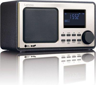 Lenco DAB-11 zwart DAB+ radio