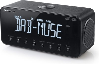 Muse M-196 DBT DAB+ wekkerradio