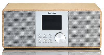 Lenco DIR-200 hout DAB+ internetradio