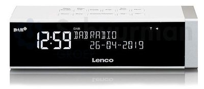 Lenco CR-630 wit DAB+ wekkerradio
