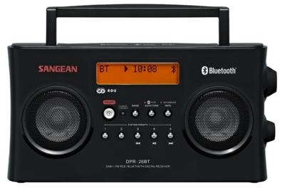 Sangean DPR-26-BT zwart DAB+ radio