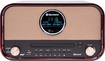 Roadstar HRA-1782ND+BT bruin DAB+ radio