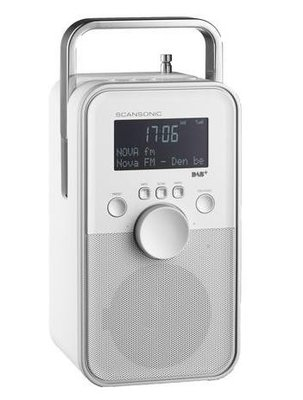Scansonic PA3600 Wit DAB+ radio