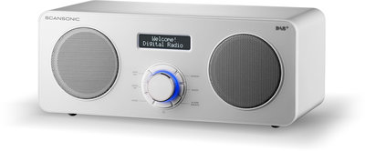 Scansonic DA300 wit DAB+ radio