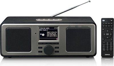 Lenco DIR-165 zwart DAB+ en internetradio