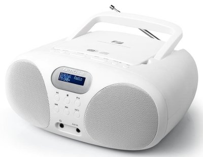 Muse MD-208 DBW wit DAB+ radio