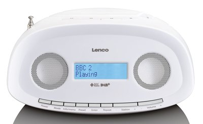 Lenco SCD-69 wit DAB+ radio