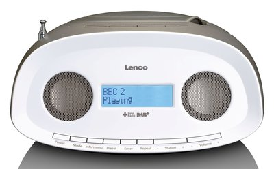 Lenco SCD-69 taupe DAB+ radio