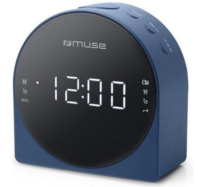 Muse M-185 CBL blauw wekkerradio