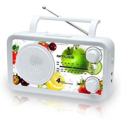 Muse M-05 fruit 4-band radio
