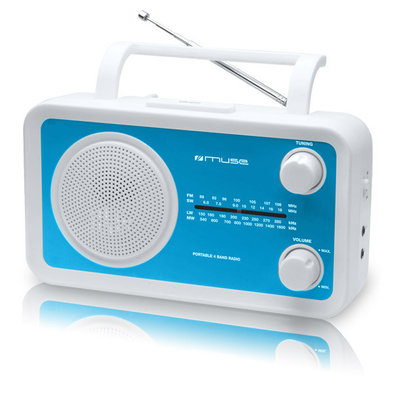 Muse M-05 blauw 4-band radio