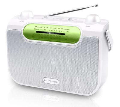Muse M-052 RW wit 4-band radio
