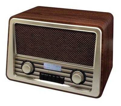 Soundmaster NR920DBR nostalgische DAB+ radio