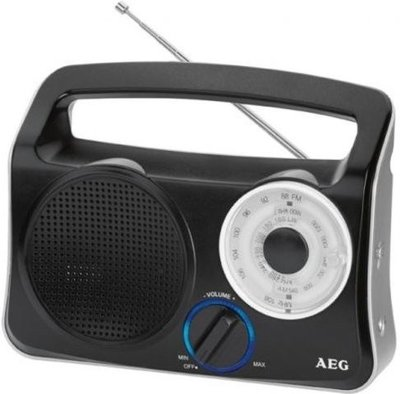 AEG TR4131 draagbare radio zwart
