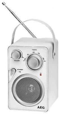 AEG MR4144 draagbare radio wit