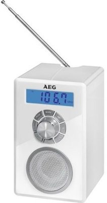 AEG MR4139 BT draagbare radio wit