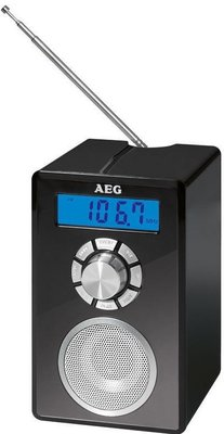 AEG MR4139 BT draagbare radio zwart