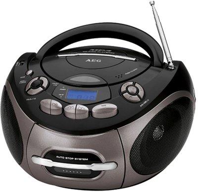 AEG SR4366 radio zwart