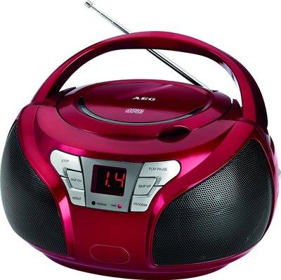AEG SR4365 radio rood