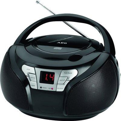 AEG SR4365 radio zwart
