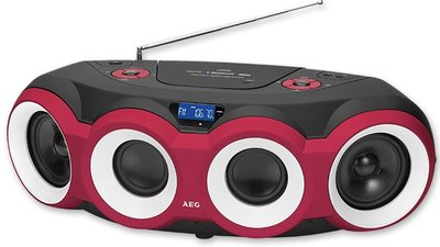 AEG SR4364 Bluetooth gettoblaster radio