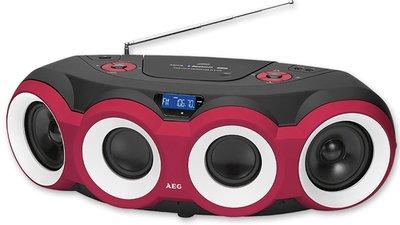 AEG SR4364 Bluetooth gettoblaster radio