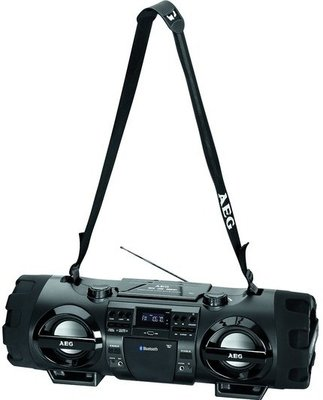AEG SR 4360 Bluetooth gettoblaster radio