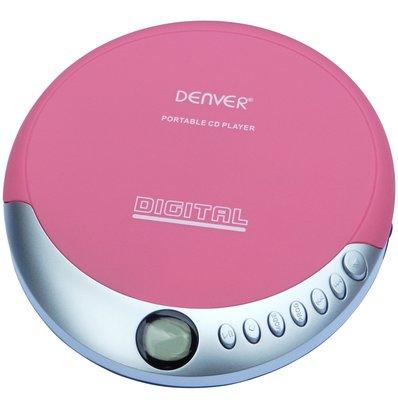 Denver DM-25C discman roze